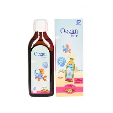Ocean Şurup Saf Balık Yağı Karışık Meyve Aromalı