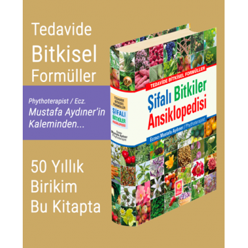 Şifalı Bitkiler Ansiklopedisi (Normal Kapak)